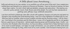 About June Armstrong - cards