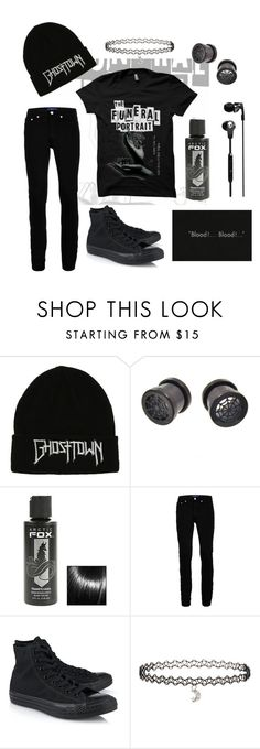 """will apparitions save you?"" by phieo-thundersnow ❤ liked on Polyvore featuring Topman, Converse, Miss Selfridge and Skullcandy"