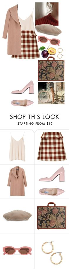 """looking for love"" by rsussher ❤ liked on Polyvore featuring Zara, Marni, Rochas, Prada, Gucci, I Santi, Elizabeth and James and Nordstrom"
