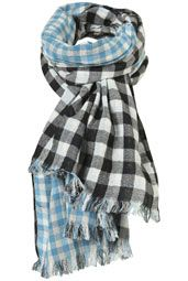 I just got two new gingham scarves yesterday and was wondering if I could layer them. This makes me think I just might be able to!