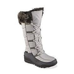 Kamik Women's Porto Gray Faux Shearling Winter Snow Boot