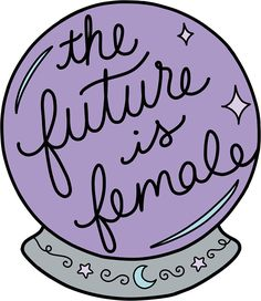 Feminism stickers featuring millions of original designs created by independent artists. Printable Stickers, Cute Stickers, Doodle Lettering, Tumblr Stickers, Witch Art, Feminist Art, Aesthetic Stickers, Crystal Ball, Laptop Stickers