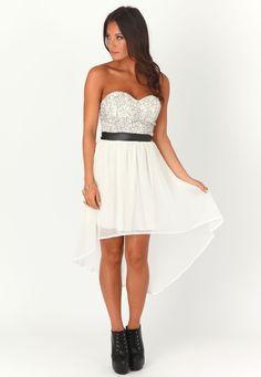 Trixxi Zigzag Print High/Low Dress (Juniors) | Nordstrom | Style ...