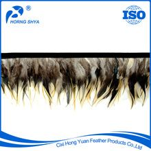 Hackle&Saddle Fringes, Hackle&Saddle Fringes direct from Cixi Hong Yuan Feather Products Co., Ltd. in China (Mainland)