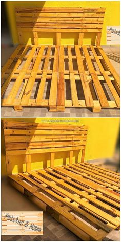 Having an innovative wood pallet bed frame is a brilliant idea to bring pleasing pictures in your bedroom. This idea of the wooden pallet is perfect for your bedroom. It would make you offer with the