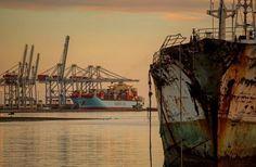 Puerto de Montevideo. Uruguay