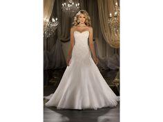 Martina Liana '411' size 4 used wedding dress - Nearly Newlywed
