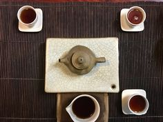 The image above portrays the visual character of the tea being shared in this month's Eco-Cha Tea Club. It's a rich, hearty brew that is both smooth and complex