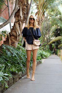 fashion-jackson-mlm-label-maison-off-the-shoulder-top-chloe-drew-handbag-schutz-lace-up-gladiator-sandals