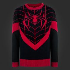 I Am Miles Morales Knit Sweater