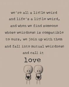 Dr. Seuss -weird :)