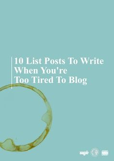 We all have those days, right? You feel like you should blog, but life or other reasons just make it hard to get any real inspiration. Hence, the humble list post and:   10 Steps To Make Sure You're… Continue Reading →