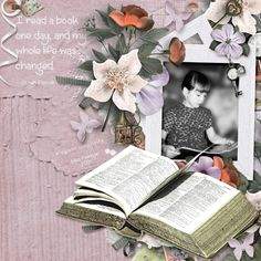 A Book by smikeel. Kits by Butterfly Dsigns: Romantic Emotion kit, clusters, papers http://scrapbird.com/designers-c-73/a-c-c-73_514/butterflydsign-c-73_514_568/romantic-emotion-page-kit-p-17930.html