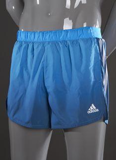 adidas adizero Split Shorts - Mens Running Clothing - Solar Blue-Tribe Blue