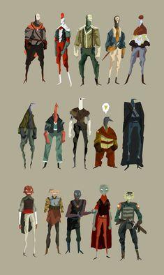 Character design by Arkenn Character Design References, Game Character, Character Concept, Concept Art, Up Personajes, Nail Bat, Character Illustration, Illustration Art, Art Illustrations