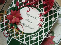 A Passion For Cards: Soiree dies (on Create and Craft today)