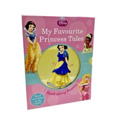 Disney Princess My Favourite Princess Tales 5 Read along stories Books NO CD vgc Disney Princess Books, My Ebay, Mixed Media, My Favorite Things, Reading, Shop, Kids, Children, Word Reading