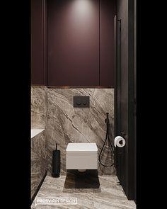 Plum Bathroom, Toilet And Bathroom Design, Small Toilet Room, Washroom Design, Toilet Design, Bathroom Design Luxury, Modern Bathroom, Modern Villa Design, Modern Interior Design