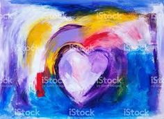 Image result for heart paintings