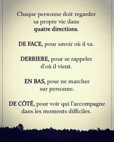 French Phrases, French Quotes, Meaningful Quotes, Inspirational Quotes, Deep Texts, French Language Lessons, Sweet Words, Positive Attitude, Life Inspiration
