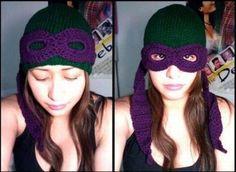 Ninja Turtle hat/mask @Ashley Turnbull Husemoller