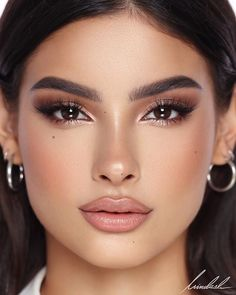 My Signature Makeup Look! on the flawless Camila Romero.PRODUCT bridal makeup , My Signature Makeup Look! on the flawless Camila Romero.PRODUCT My Signature Makeup Look! on the flawless Camila Romero. Makeup Goals, Makeup Inspo, Makeup Inspiration, Makeup Tips, Makeup Ideas, Makeup Products, Beauty Products, Hd Make Up, Make Up Looks