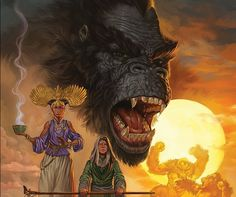Preview of Kong of Skull Island #1 by Asmus & Magno