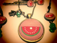 Camafeo ilustrado * Strawberry Style Shop * Feria Central