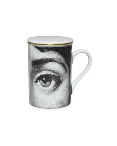 Occhio Herbal Tea Cup    Handcrafted in Milan  Fornasetti