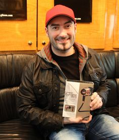 Tommy Mac from JUNO award winning band Hedley with his new Turbine Pro in-ear speakers! Speakers, My Eyes, Mac, Stars, Fictional Characters, Sterne, March, Poppy, Loudspeaker