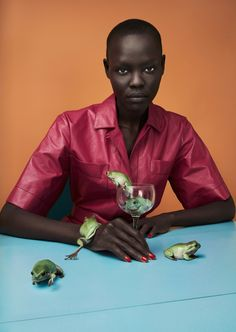 Grace Bol in Luncheon Magazine #3 Spring 2017 by Solve Sundsbo — Sunrise Market