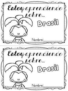 Brazil Country Study | Brasil Estudio de país | Español Edition | Spanish    #Brasil #Brazil #Español #Spanish #resource #classroom #country #study #teacherspayteachers #TPT #passport #resource #idea #teacher #postcard