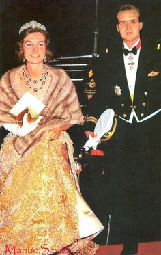 The Royal Watcher - Princess Sofia and Prince Juan Carlos of Spain, now Queen and King of Spain