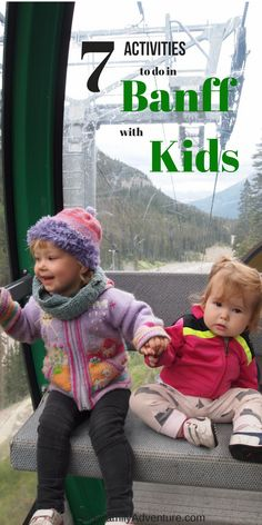 Banff is world renowned for its views, wildlife sightings, adventure and of course relaxation. Explore Banff with kids with these summer activities. #banffwildlife