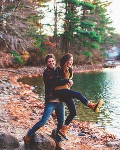 Love. Couple. Hug. Laugh.