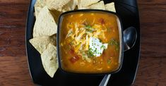 Spicy Chicken Enchilada Soup Really Warms Both Body And Soul