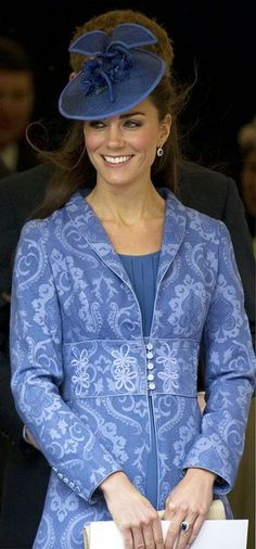 Kate Middleton. I really hope that she manages to bring hats back in a big way.