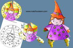 coloriage sorcière