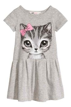 Kitty baby dress