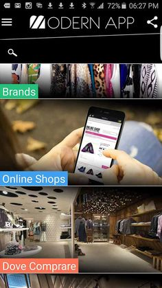 Modern App - The fashion world in your hand