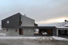 Form follows Bebauungsplan : Ausgefallene Fenster & Türen von edoart architecture and design