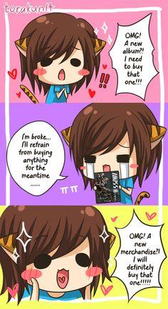 Torakun Comics :: I'm broke but...   Tapastic - image 1