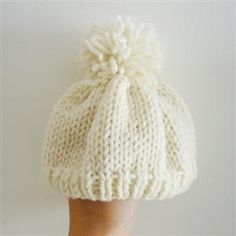 Knitted Baby Hats Are the Cutest Thing Ever