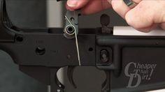 Installing Fire Control Group - Building your AR-15 - CheaperThanDirt.com