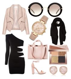 """Afternoon"" by ornellag ❤ liked on Polyvore featuring Balmain, Steve Madden, Corto Moltedo, Michael Kors, Miu Miu, Zizzi, Cash Ca, Monica Vinader and Bobbi Brown Cosmetics"