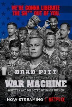 War Machine (2017) movie #poster, #tshirt, #mousepad, #movieposters2