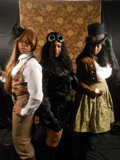 Sir Charlie's Angels--Steampunk Style