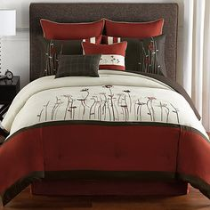 Geneva 6-8 Piece Complete Comforter Set - BedBathandBeyond.com