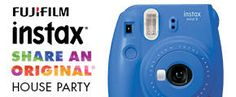 FREE FUJIFILM Instax Share an Original Party Pack (If You Qualify) on http://www.icravefreebies.com/