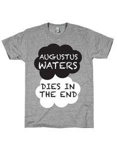 TFIOS SPOIL ALERT!!so  evil that i need it xD AUGUSTUS WATERS TEE at Shop Jeen - SHOP JEEN
